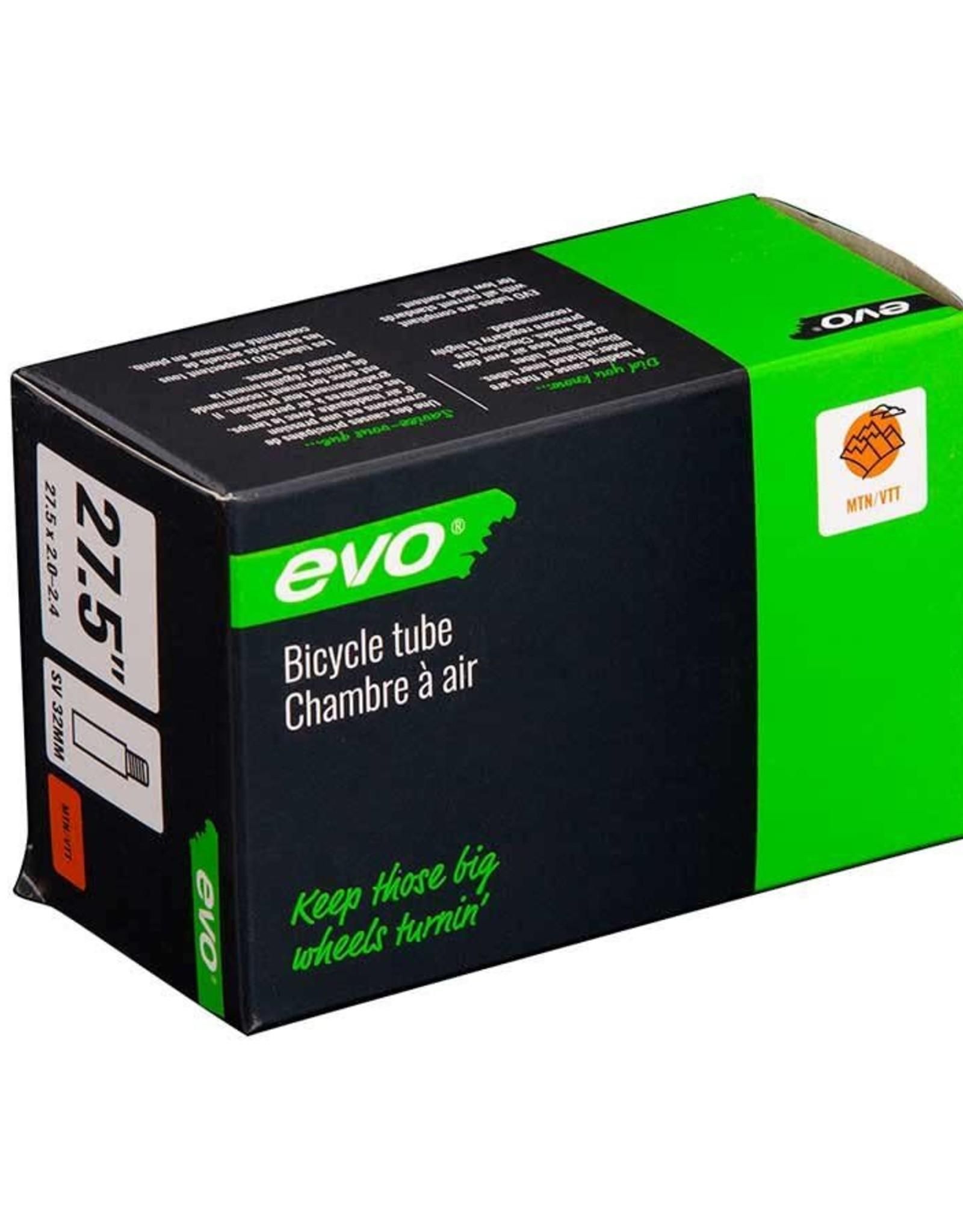 EVO EVO, SV, Chambre a air, Schrader, Longueur: 32mm, 27.5'', 2.00-2.40