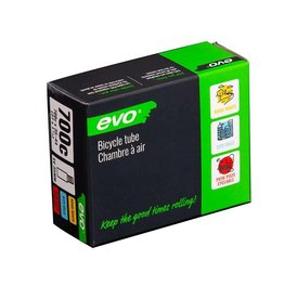 EVO EVO, SV, Chambre a air, Schrader, Longueur: 35mm, 700C, 35-44C