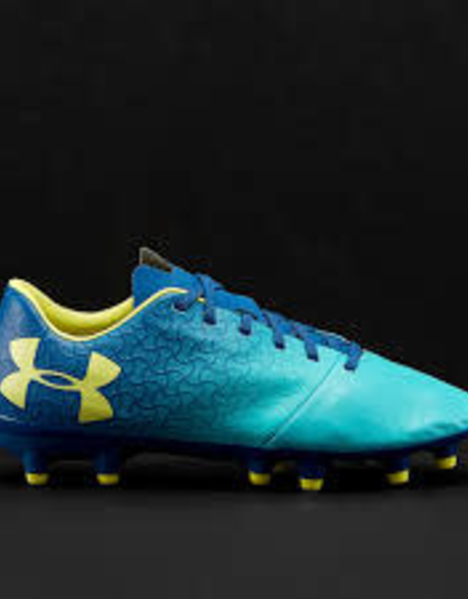 Under Armour UA Soulier Magnetico(8) TF Blu/YL