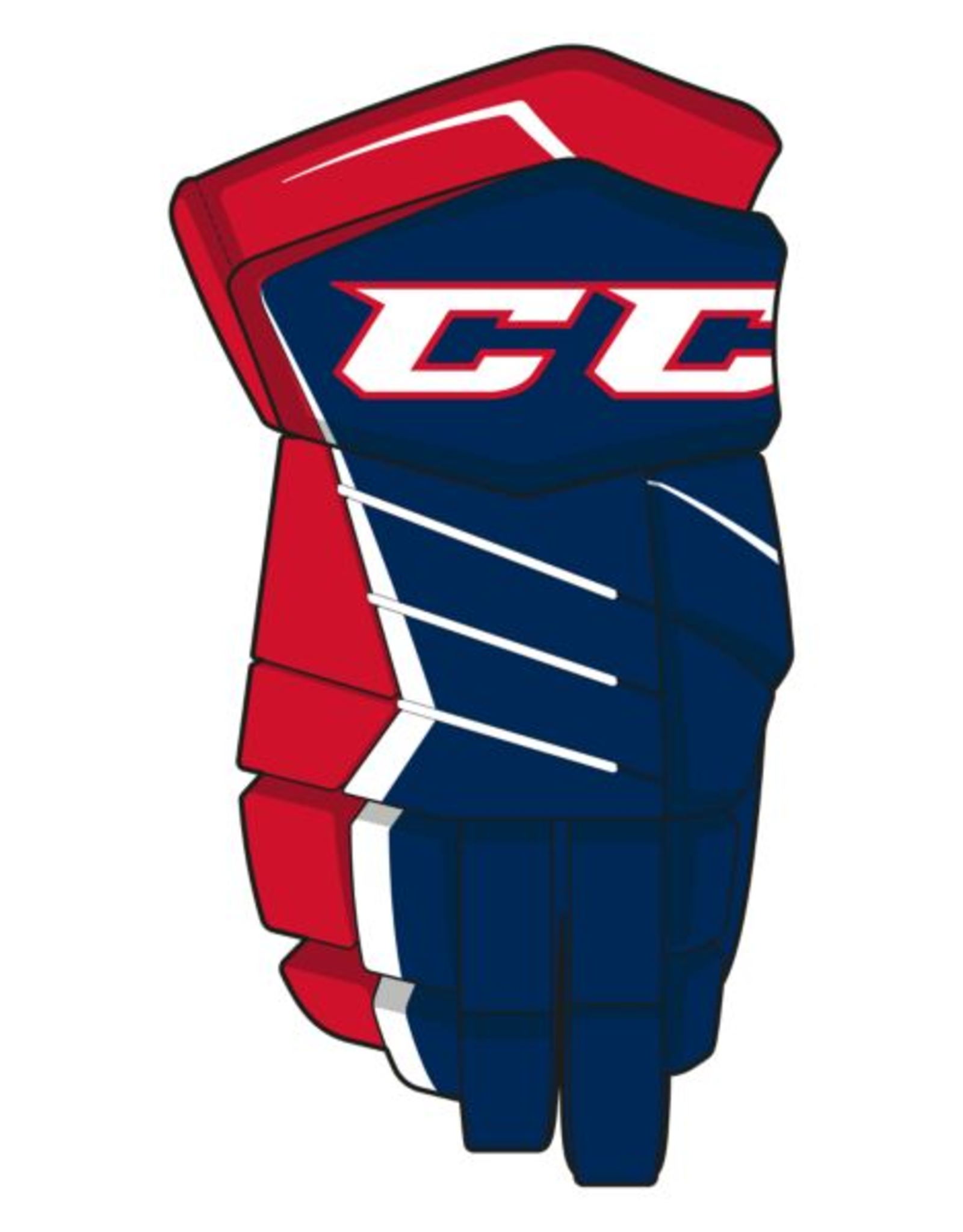 CCM HG370 JS JR GLOVES v.1 12 NVRW