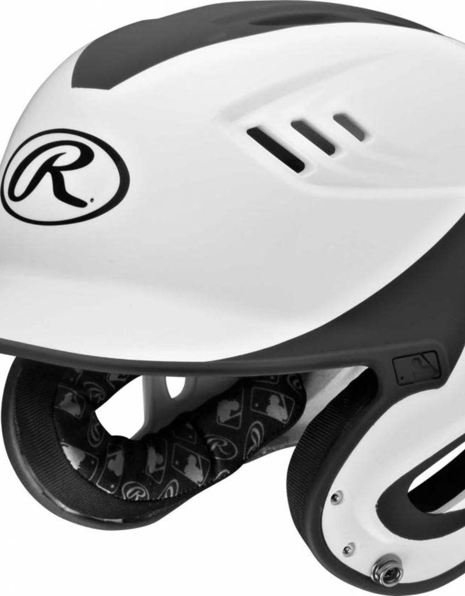 Rawlings RAWLINGS HELMET R16H2J-WH/BLK