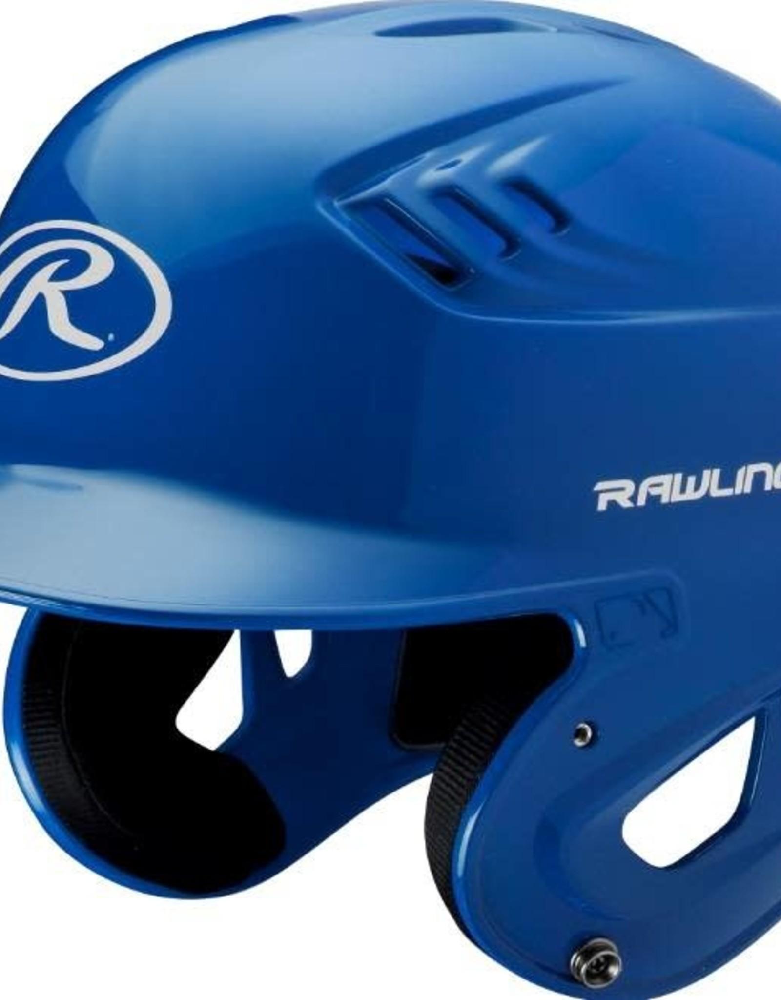 Rawlings R16 Velo Helmet - 1-Tone Clearcoat - JR-Royal