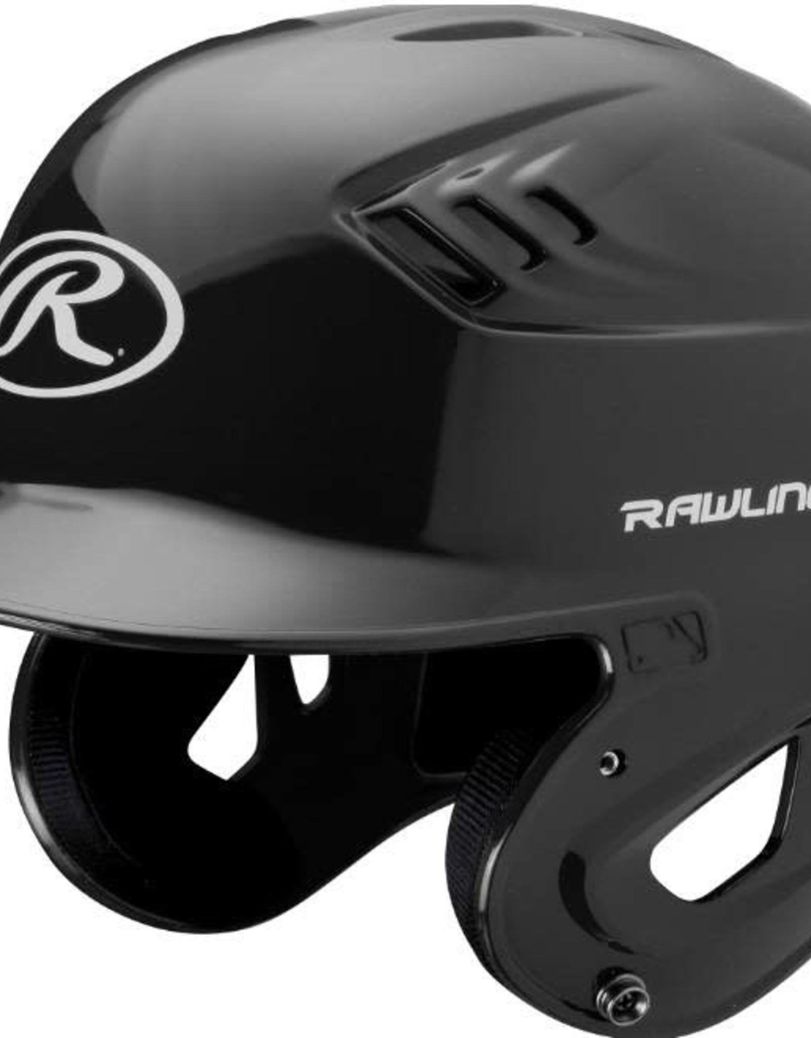 Rawlings Coolflo High School/College Batting Helmet Black LRG