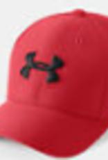 Boys UA Boy's Blitzing 3.0 Cap Red / Red / Black XS/S