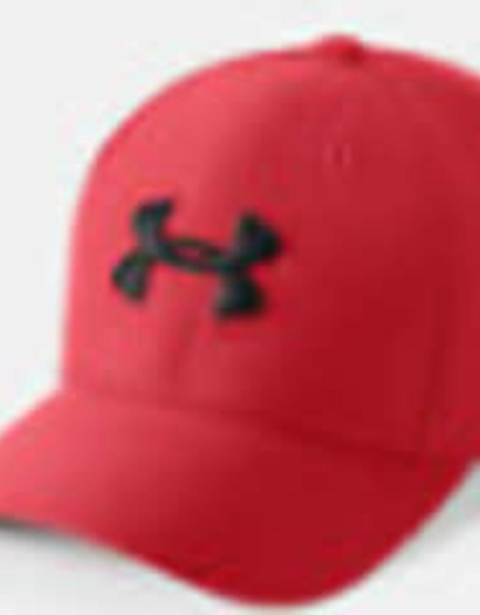 Boys UA Boy's Blitzing 3.0 Cap Red / Red / Black (S-M)