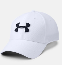 Under Armour Mens UA Classic Mesh Cap-WHT,L/XL