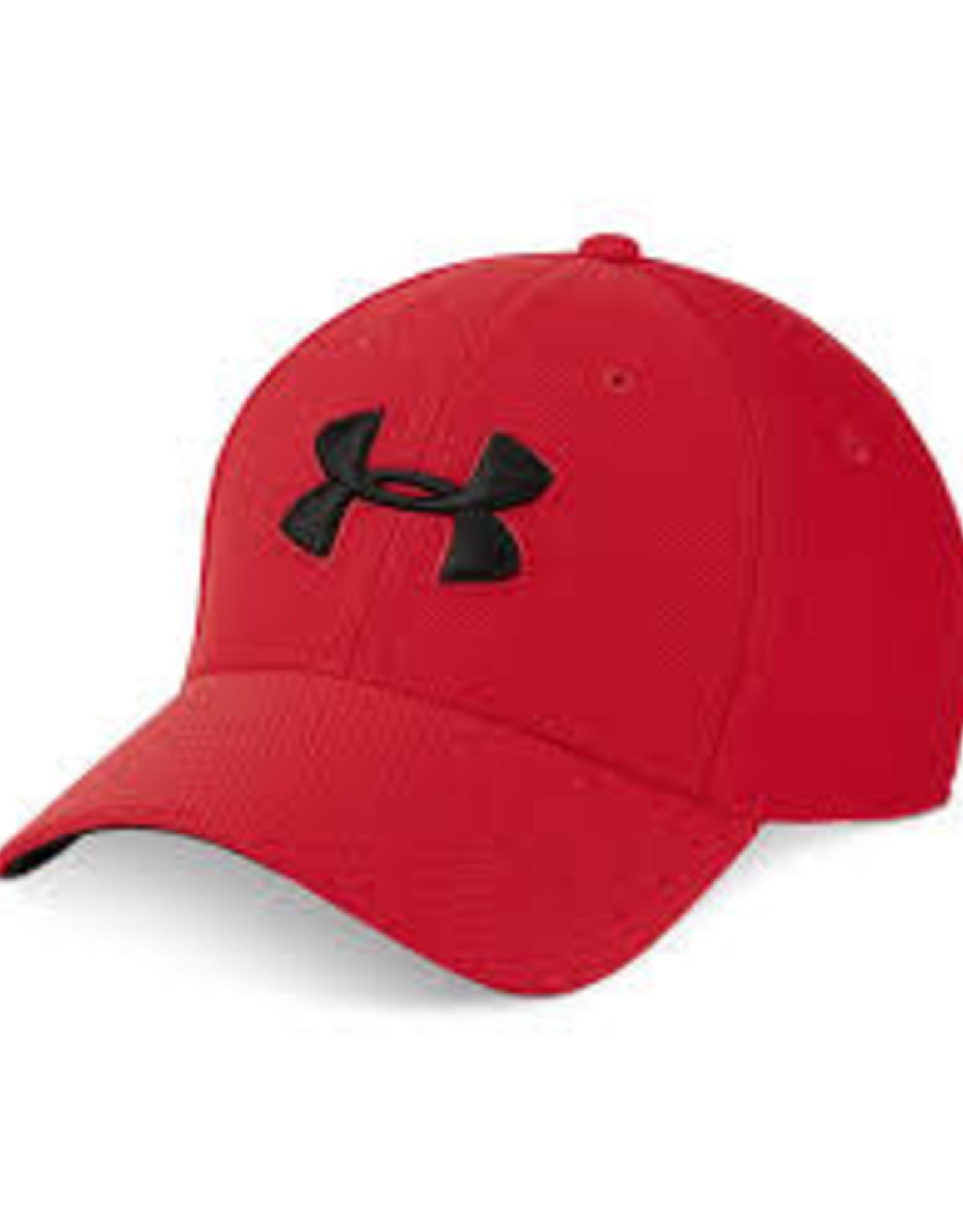 Mens UA Men's Blitzing 3.0 Cap Red / Red / Black M/L