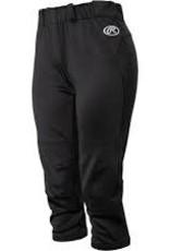 Rawlings Pants Baseball Women No Zip Yoga L