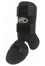 Rawlings Rawlings Leg Guard (black) jambiere pour frappeur