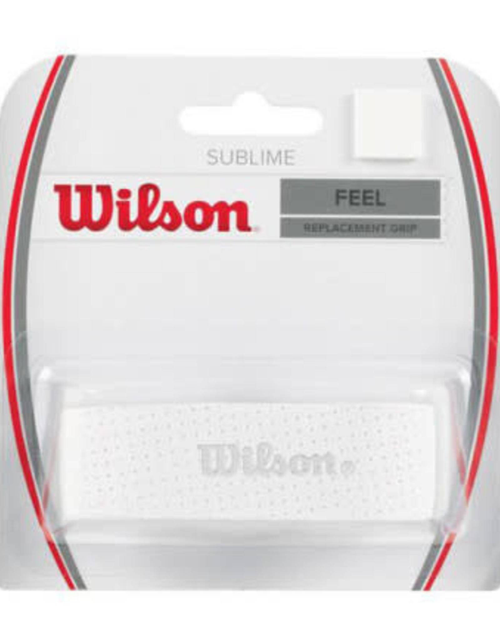 Wilson Grip Feel sublime  blanc