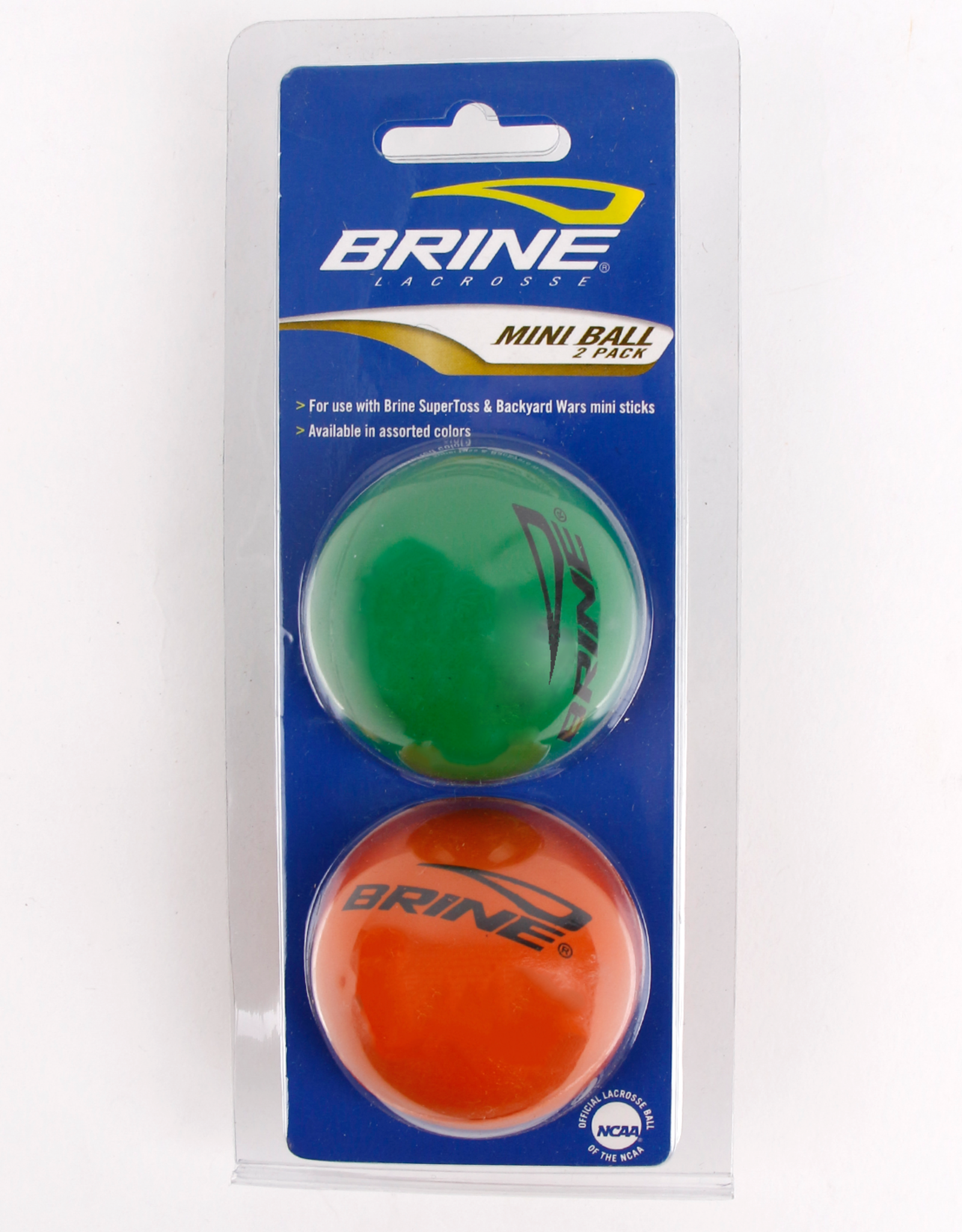 Warrior BRINE MINI BALL 2 PACK OR/VERT