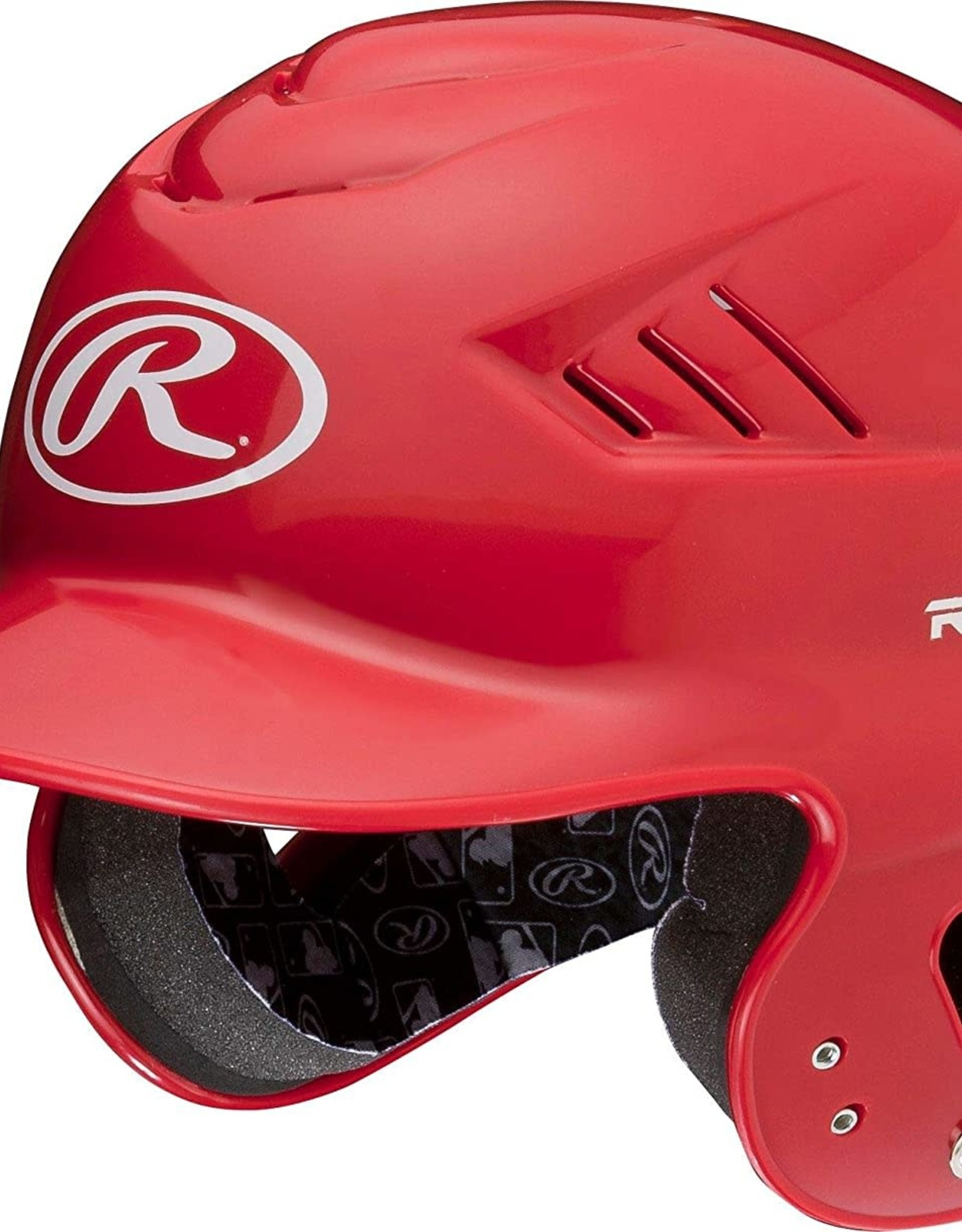 Rawlings Coolflo T-Ball Batting Helmet Scarlet