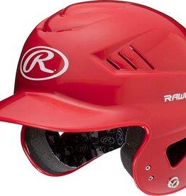 Rawlings Coolflo T-Ball Batting Helmet Scarlet