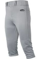 Rawlings Adult Launch Knicker Pant Bluegrey XLRG (elastique)