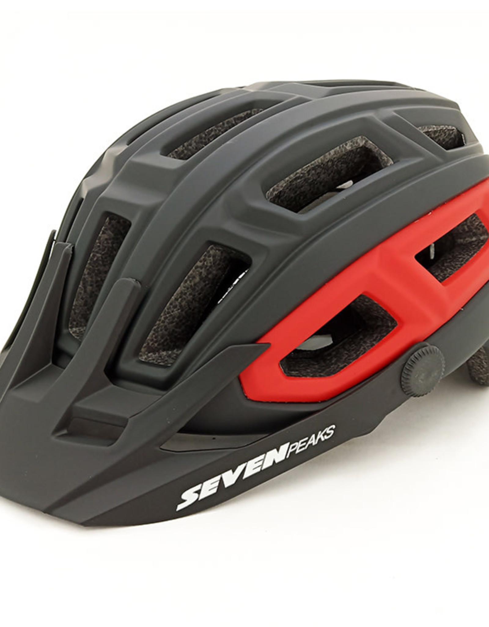 Seven Paeks Bike Helmet Seven Peaks Spirit L/XL Blk/Red