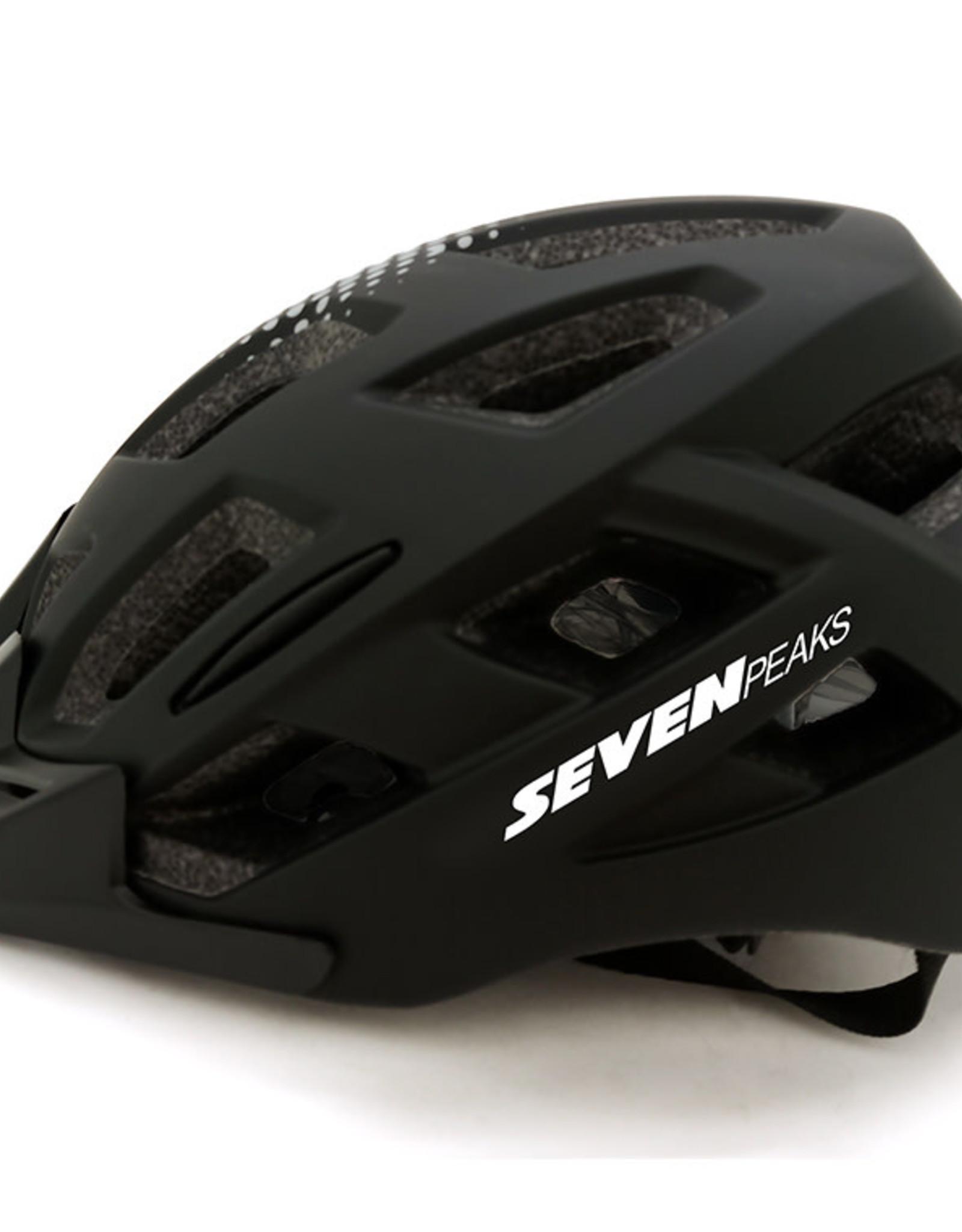 Seven Paeks Bike Helmet Seven Peaks Heroes S/M Blk/Grey