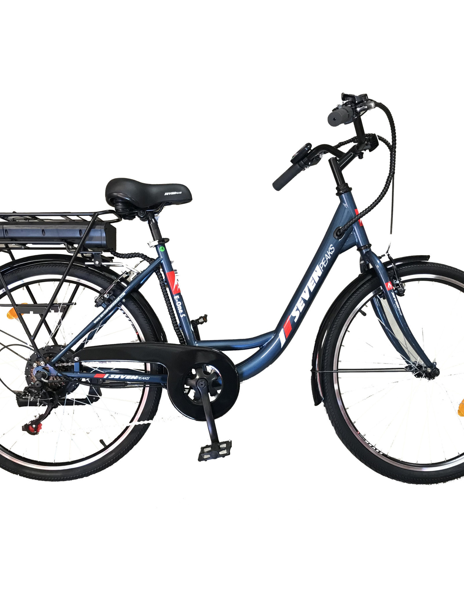 Seven Paeks E-ONE 5  Électrique (17'') Bleu  26'' - 7 vitesses - 36volt