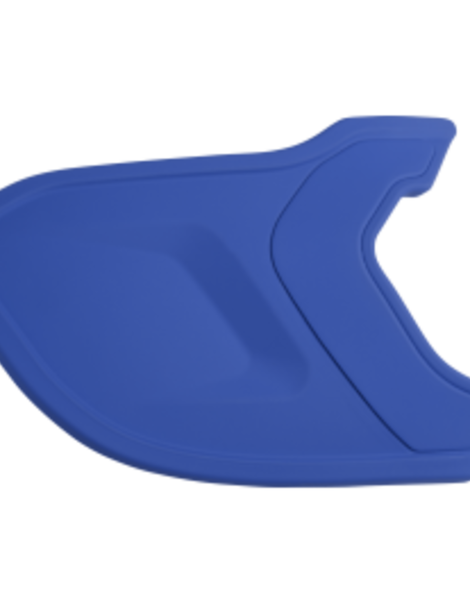 Mach Helmet Extension - RH Batter Mat Royal