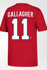 NHL T-SHIRT GALLAGHER YTH M