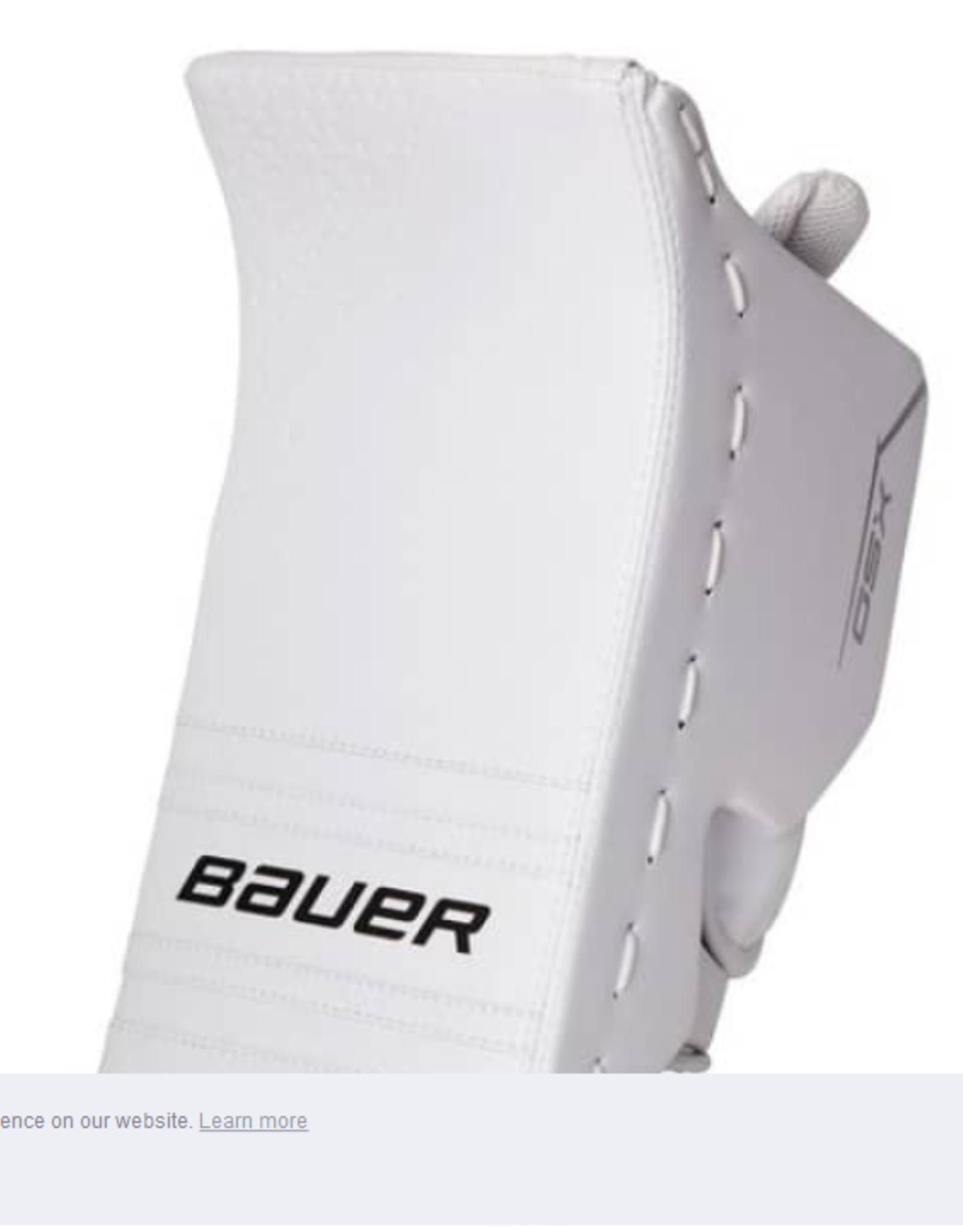 Bauer Hockey S20 BAUER GSX BLOCKER SR WHT REG