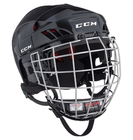 CCM Hockey CCM HT50 HELMET COMBO Black S