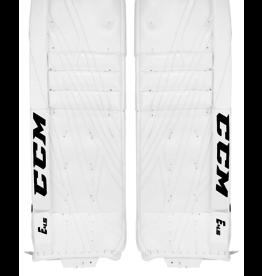 CCM Hockey GPE4.5CC SR CCM EFX Goalie Pads Wh/Wh/Wh/Wh 33+1