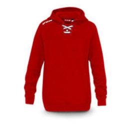 CCM Hockey (USA) 7512 JRSY FLCE HOODY RED  SR (M)