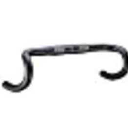 FSA FSA, Omega Compact, Road handlebar, 31.8mm, 380mm, Reach:80mm, Drop:125mm, Black