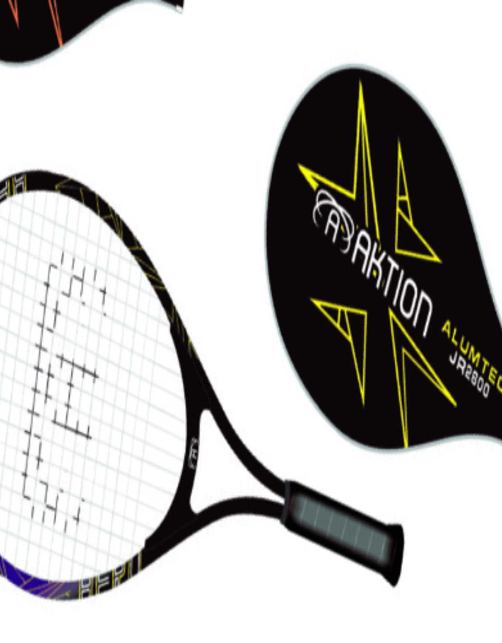 Raquette de Tennis Aktion Junior AK2600 25'' Mauve/Noir