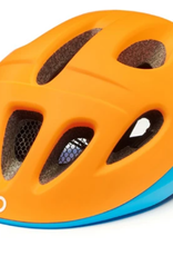 Briko Cycling Helmet JR,Fury Matt Orange Blue Fluo-A17 S