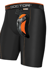 Shock Doctor Ultra Pro Comp Short w/Ultra Cup Blk M/S Adult BLACK