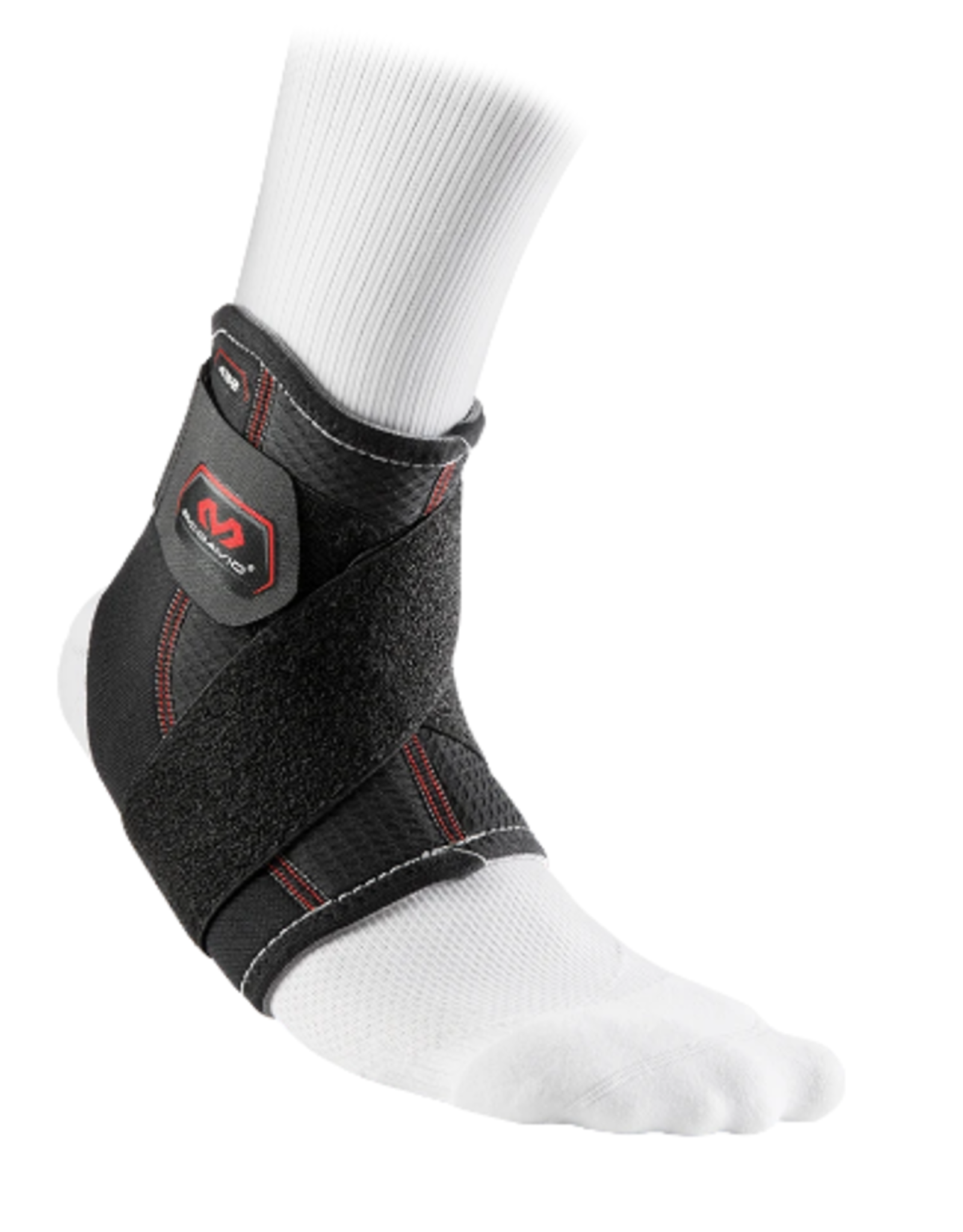 McDavid Compressionsport.com Level 2 Ankle Support w/Figure 8 Straps Blk S