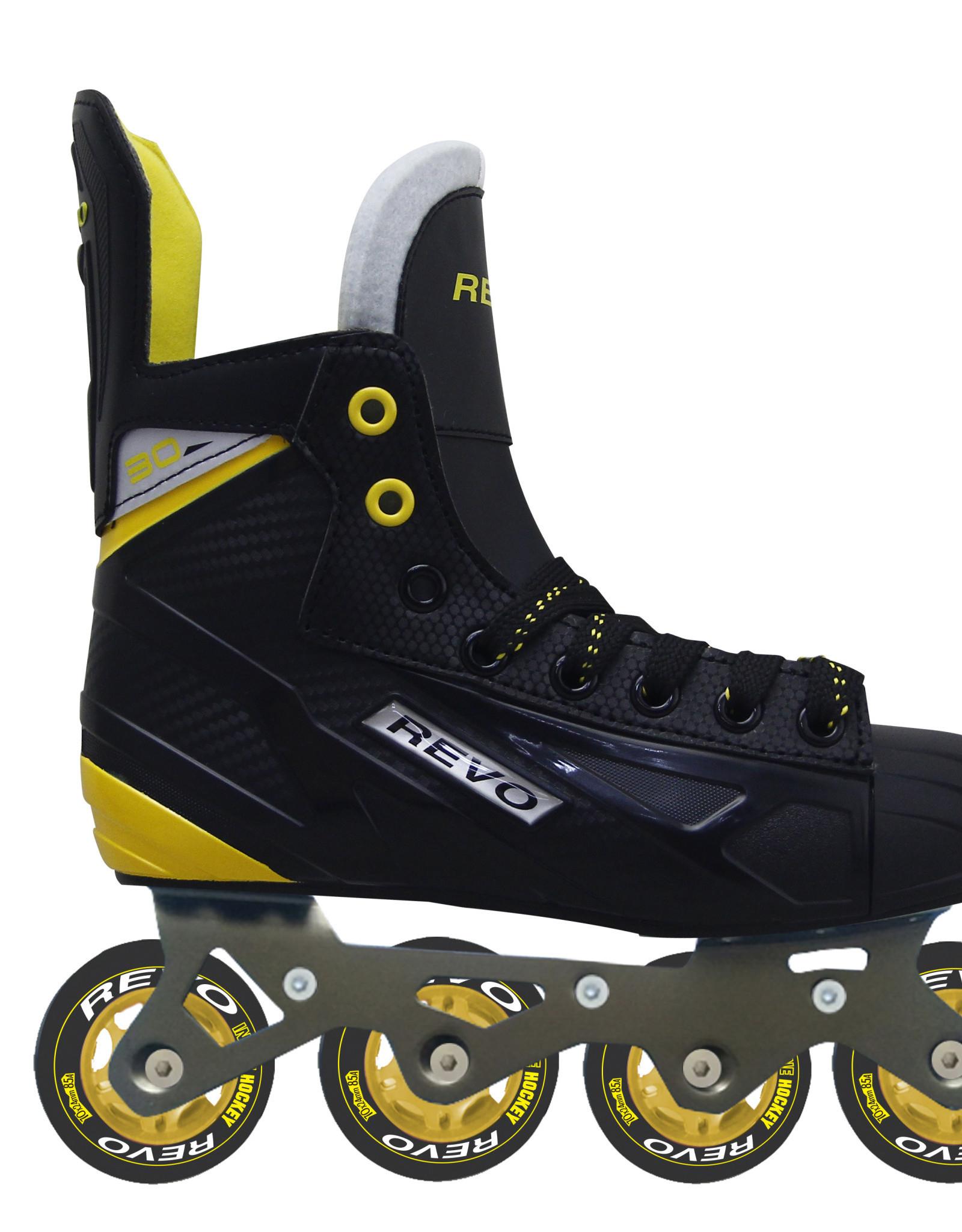 Roller Hockey Revo RH30 BKYLJR Noir Jaune US:4