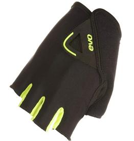 EVO EVO, Palmer Pro, Short Finger Gloves, Women, Black/Yellow, S, Pair