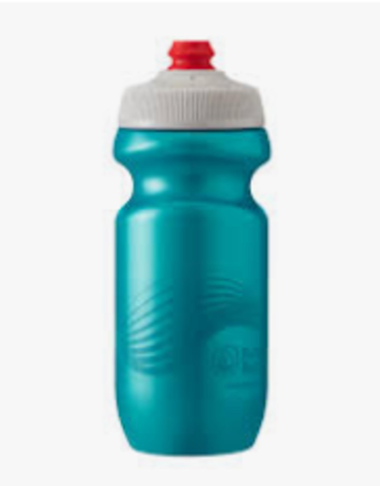 Polar Bottle Polar, Breakaway 20oz, Water Bottle, 591ml / 20oz, Teal/Silver