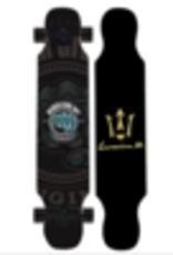 Lemkeep LONGBOARD LEMKEEP 41,5''x 9'' NOIR NEVER GIVE UP