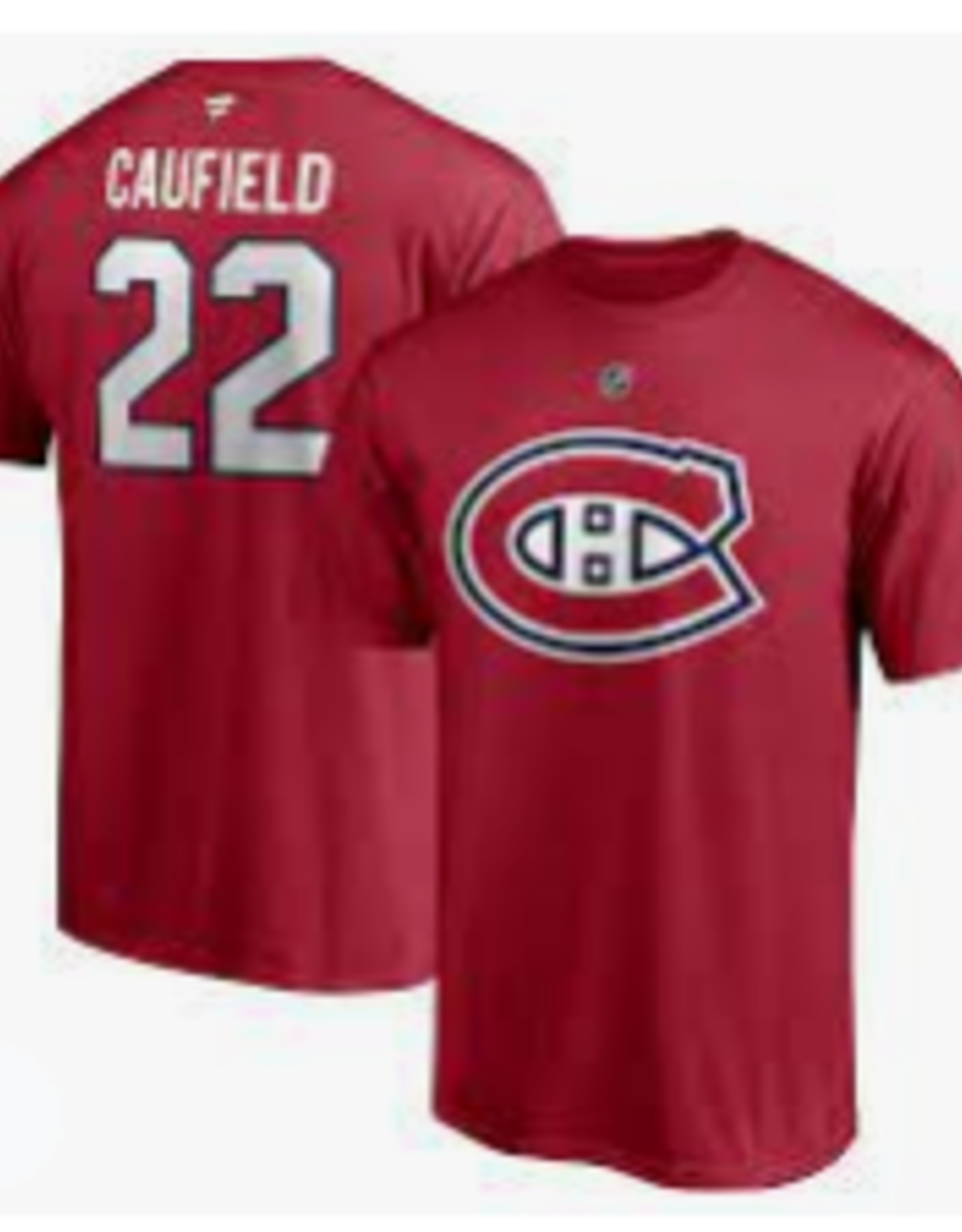 Chandail t-shirt- 22 Cole Caufield NHL Officiel Youth