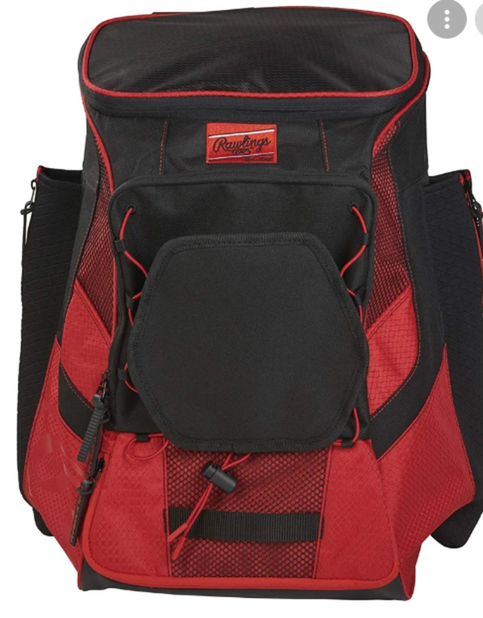 """Rawlings R600 Player's Backpack-Scarlet-20""""x13.5""""x9.5"""