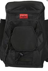 "Rawlings Rawlings R600 Player's Backpack-Black-20""x13.5""x9.5"