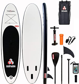 Odd paddle INFLATABLE STAND UP ODD PADDLE 11' NOIR BLANC