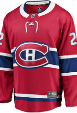 Cole Caufield Montreal Canadiens Fanatics Branded S Home Premier Breakaway Player - Jersey - Red
