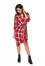 Dex Penelope Plaid Dress