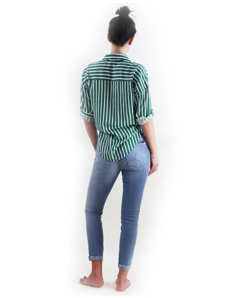 Dex Melody Striped Blouse
