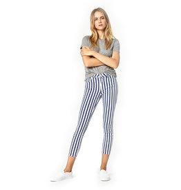 Mavi Mavi  Super Skinny White Stripe Denim