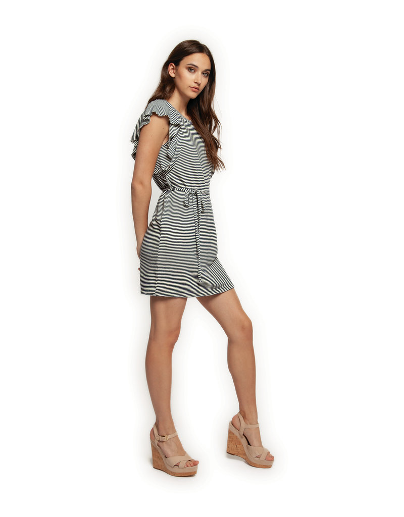Dex Lily Butterfly Sleeve Dress