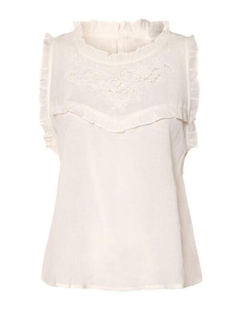 Dex Juliette Ruffled Top