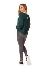 Dex Sarah Split Back Sweater