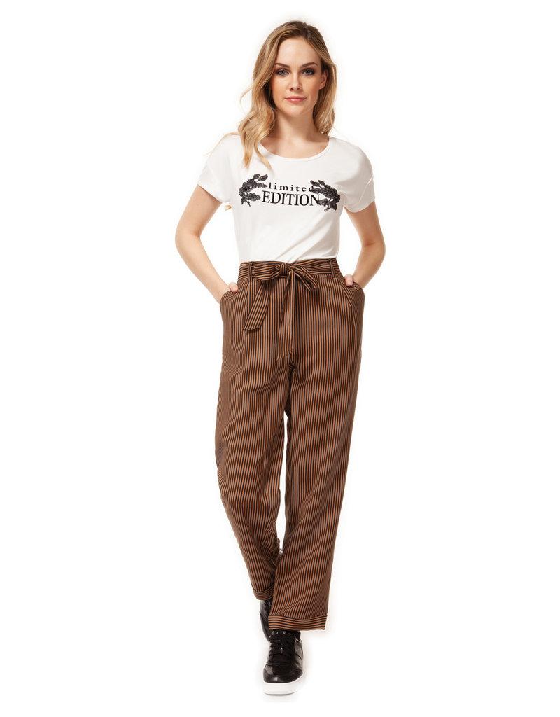 Dex Nadia Striped Pant