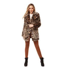Dex Lyla Leopard Coat