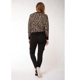 Dex Janelle Leopard Sweater